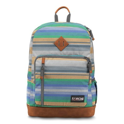 "Trans by JanSport 18"" Dakoda Backpack - Variegated Gray"
