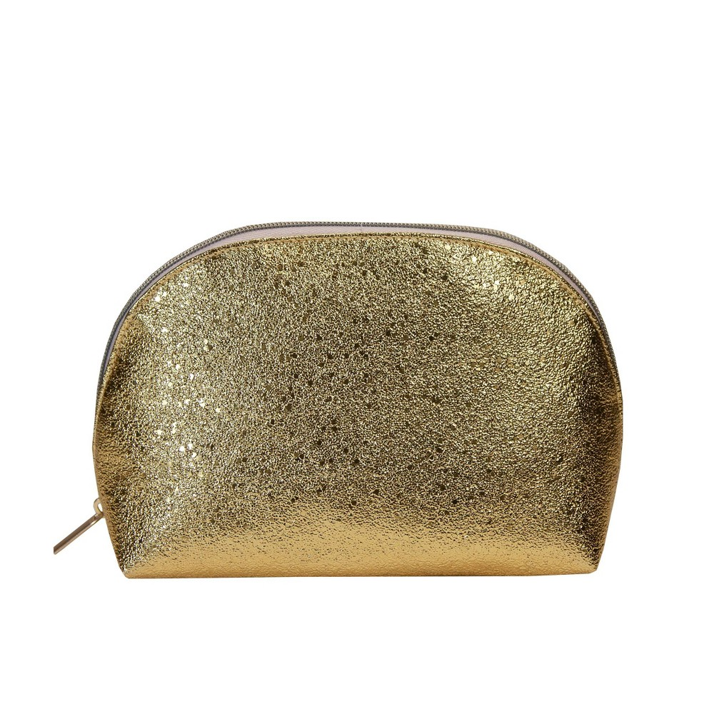 Image of Allegro Clutch Makeup Bag - Gold Shimmer