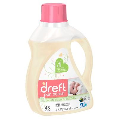 Dreft purtouch HE Liquid Laundry Detergent - 75 fl oz