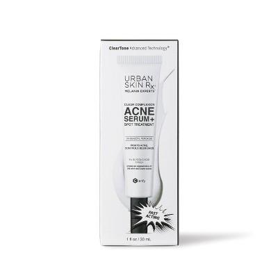 Urban Skin Rx Clear Complexion Acne Serum and Spot Treatment - 1 fl oz