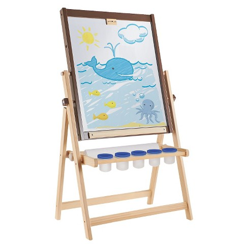 Guidecraft Wooden Tabletop Easel Kaplan Early Learning Company