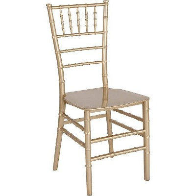 Hercules Series Resin Stackable Chiavari Chair - Riverstone Furniture Collection