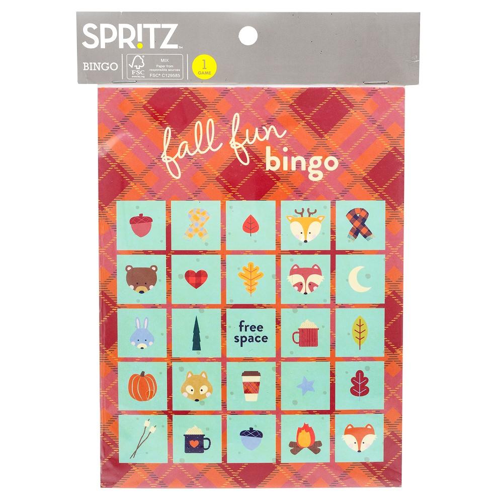 Bingo Game w/ Buttons - Spritz, Multi-Colored