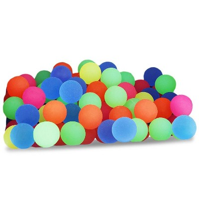 Juvale 100-Pack Bouncy Balls Toy Party Favors for Kids 1-inch, Multicolor