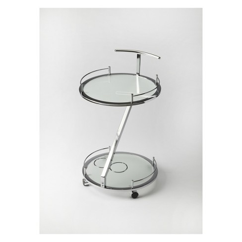 Butler Specialty Gigi Modern Serving Cart Frosted Glass - image 1 of 3