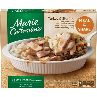 Marie Callender's Meal For Two Frozen Turkey & Stuffing - 24oz