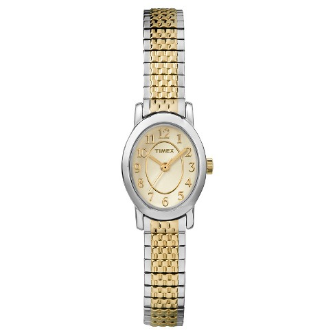 Women's Timex Cavatina® Expansion Band Watch - Two Tone TW2P60200JT - image 1 of 1
