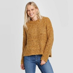 Women's Crewneck Chunky Pullover Sweater - Universal Thread™