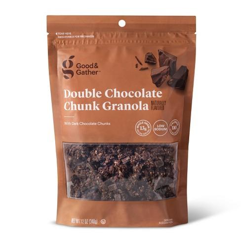Double Chocolate Chunk Granola - 12oz - Good & Gather™ - image 1 of 2
