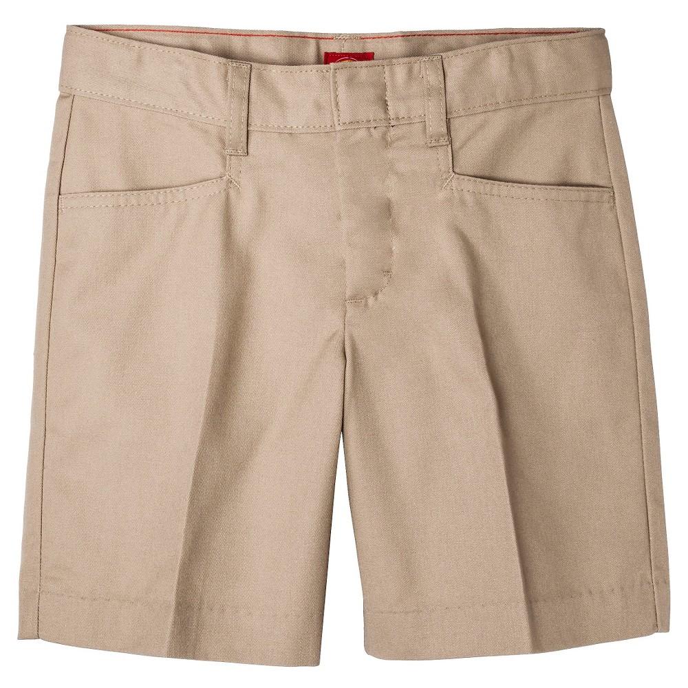 Dickies Girls' Classic Shorts - Khaki (Green) 7