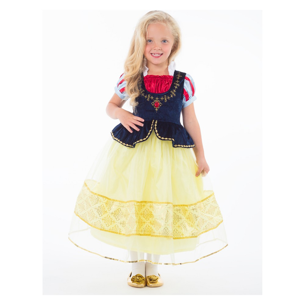 Little Adventures Child's Deluxe Snow White Dress - XL, Girl's, Multicolored