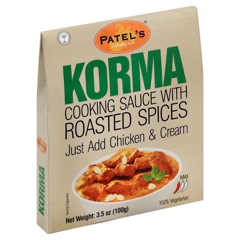 Patel Korma Cooking Spice Blend 3.5-oz. - image 1 of 1