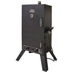 Smoke Hollow 12,000 BTU 44 Inch Dual Burner Stainless Steel Gas Smoker, Black