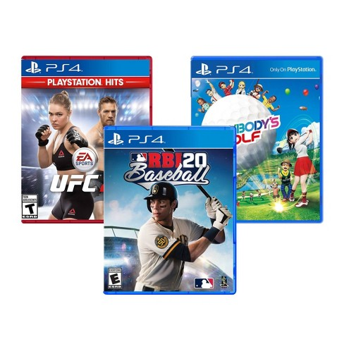 UFC 2 / MLB RBI 20 Baseball / Everybody's Golf - 3 Video Game Pack - PlayStation 4 - image 1 of 4