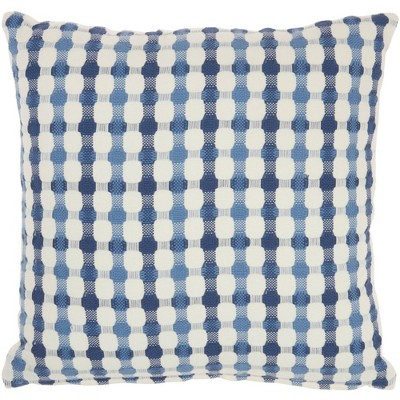 """18""""x18"""" Life Styles Embroidered Dots Throw Pillow - Mina Victory : Target"""
