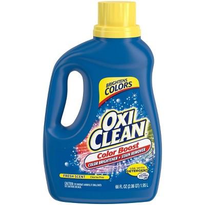 OxiClean Color Boost Color Brightener plus Stain Remover Liquid Fresh Scent - 66 fl oz
