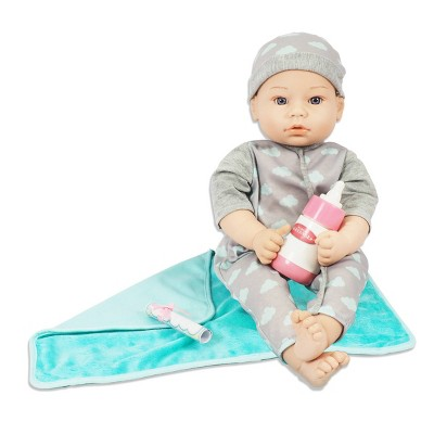 "Madame Alexander 18"" Small Wonders Sweet & Happy Baby Bedtime Set- Boy"