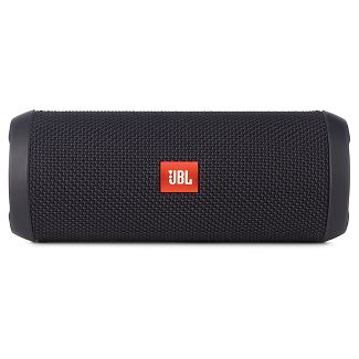JBL Flip 4 Waterproof Bluetooth Speaker - Black
