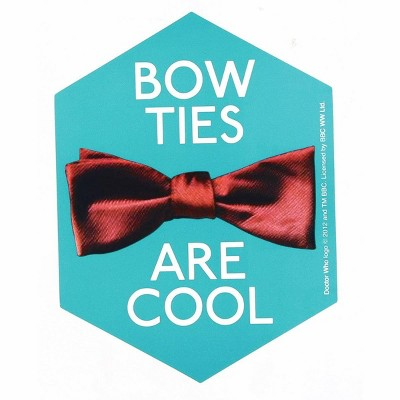 Seven20 Doctor Who Sticker: Bow Ties Are Cool