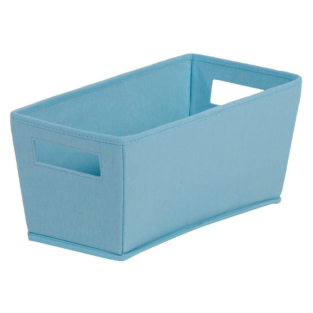 Fabric Quarter Bin Light Blue - Itso, Jewelry Turq Fabric Quarter Bin Light Blue - Itso Color: Jewelry Turq. Age Group: Adult.