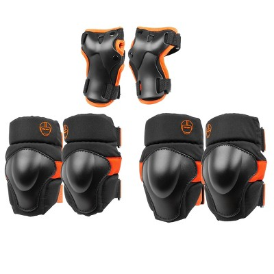 Nutcase Youth Pads Boy Ages 8+ - Black