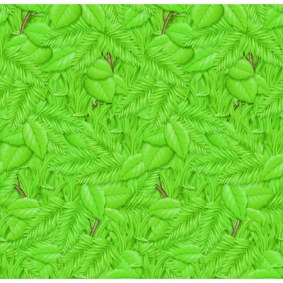 Fadeless Designs Paper Roll, Tropical Foliage, 48 Inches x 12 Feet