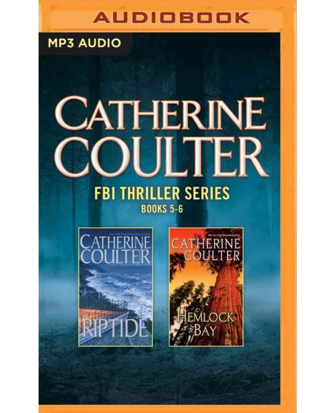 Riptide / Hemlock Bay (MP3-CD) (Catherine Coulter) - image 1 of 1