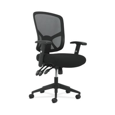 Sadie Customizable Ergonomic High Back Mesh Task Chair Black - HON