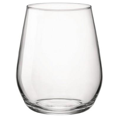 Bormioli Rocco Electra 8oz Stemless Wine Glass - Set of 4