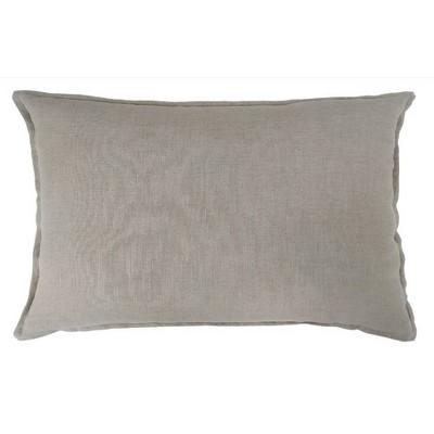 Lumbar Linen Pillow Neutral - Threshold™