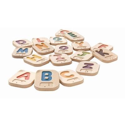 PlanToys Braille Alphabet A-Z