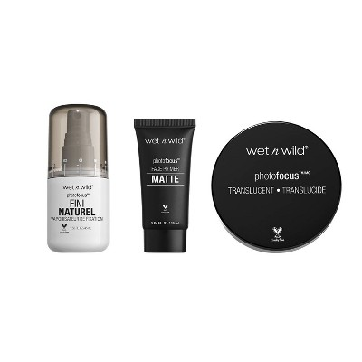 Wet n Wild Prime Focus Primer & Set Bundle - 1oz