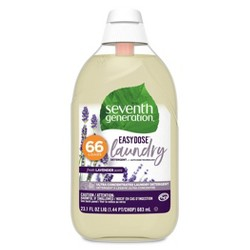 Seventh Generation EasyDose Ultra Concentrated Laundry Detergent - Free & Clear/Lavender - 23 oz/66 Loads