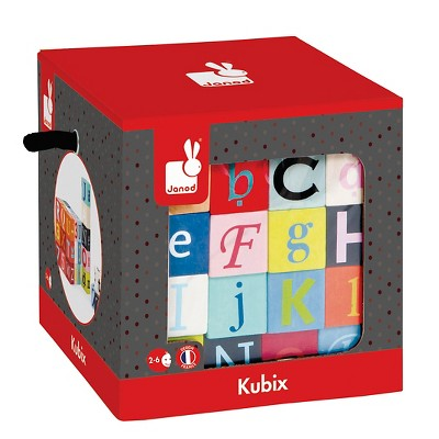 Janod Kubix 40 Letters & Numbers Block