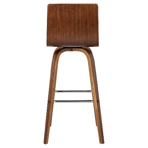Vienna 30 Faux Leather Barstool Brown Armen Living Target