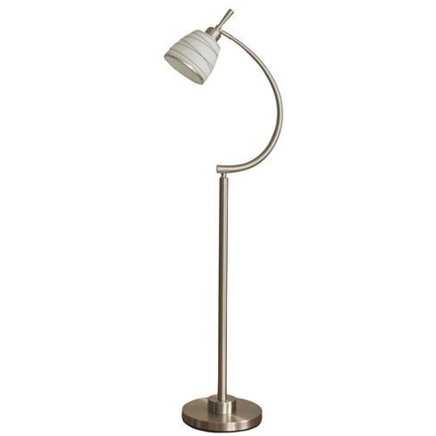 Orillia Contemporary Floor Lamp Steel  - StyleCraft - image 1 of 1