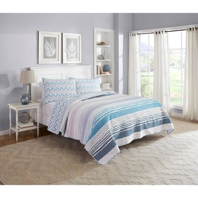 Raine 3 Piece Quilt Set - Marble Hill