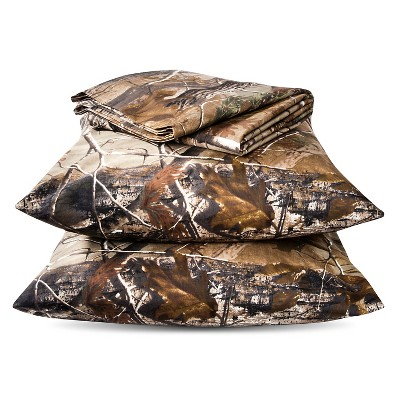 Realtree Classic Sheet Set - Green (King)