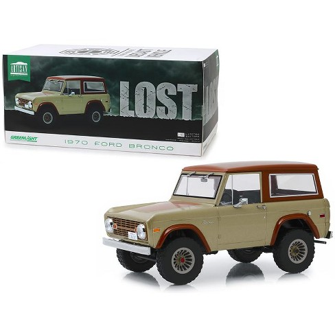 1970 ford bronco tan and brown lost 2004 2010 tv series 1 18 diecast model car by greenlight target 1970 ford bronco tan and brown lost 2004 2010 tv series 1 18 diecast model car by greenlight