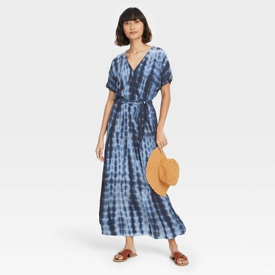 Women's Short Sleeve Wrap Dress - Knox Rose™