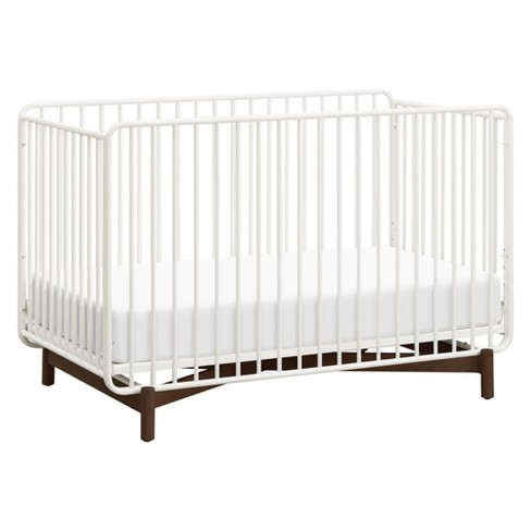 Bixby 3-in-1 Convertible Metal Crib with Toddler Bed Conversion Kit - image 1 of 6