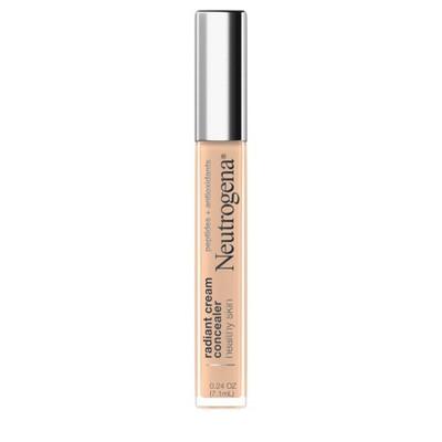 Neutrogena Healthy Skin Radiant Cream Concealer with Peptides + Antioxidants - 0.24 fl oz