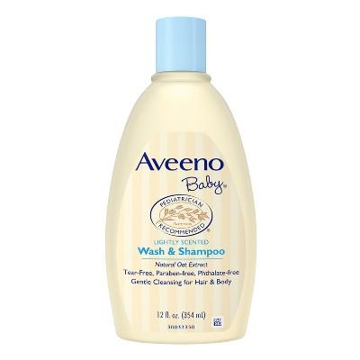 Aveeno Baby Wash and Shampoo - 12.0oz