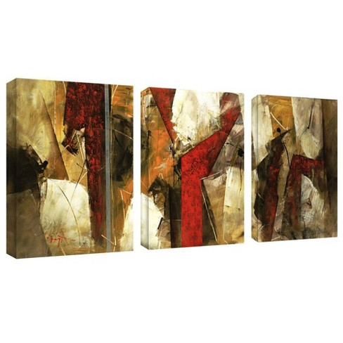 3pc Abstract IX by Masters Art - Trademark Fine Art - image 1 of 2