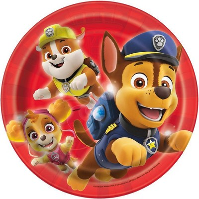 """PAW Patrol 7"""" 8ct Party Paper Plates"""