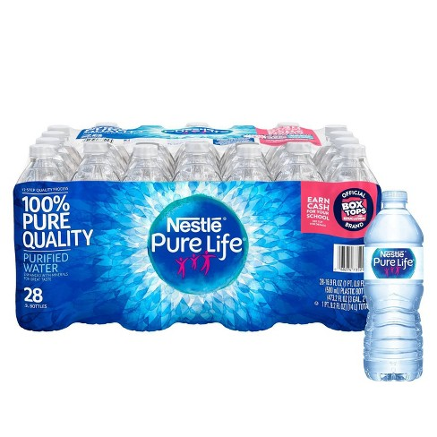 Nestle Pure Life Purified Water - 28pk/0.5 L Bottles - image 1 of 4