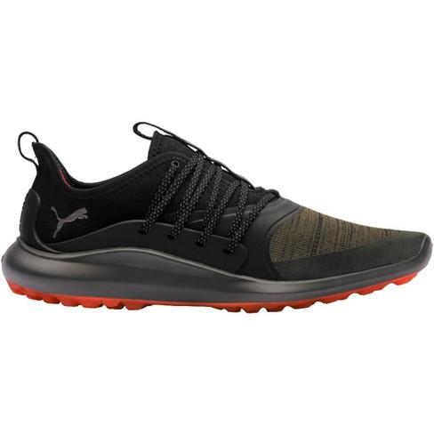 4559b1b5e Men's Puma Ignite Nxt Solelace Spikeless Golf Shoes Burnt Olive/Silver/Black