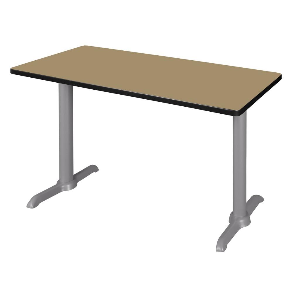 48 Via Training Table Gold/Gray - Regency