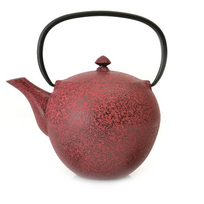 BergHOFF Studio 1.2Qt Cast Iron Teapot, Red