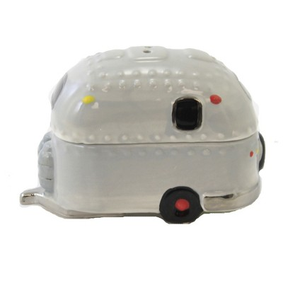 """Tabletop 4.75"""" Airstream Salt And Pepper Travel Vacation Magnetic One Hundred 80 Degree  -  Salt And Pepper Shaker Sets"""